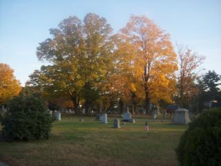 Assonet Burying Ground (Autumn 2009)