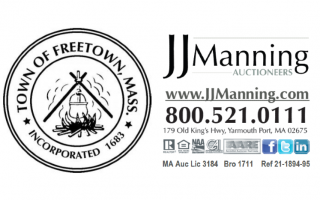 JJManning Auctioneers, on behalf of the Town of Freetown